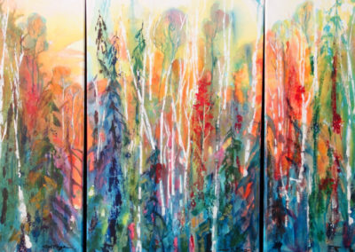 Boreal Forest Triptych