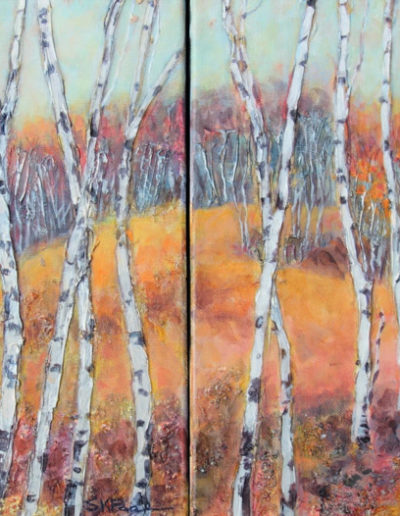 Autumn Passages Diptych - AVAILABLE