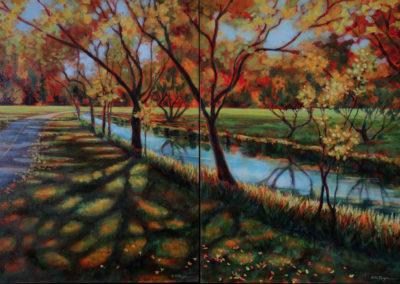 Autumn Splendor Diptych