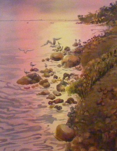 Spring Bay Sunset